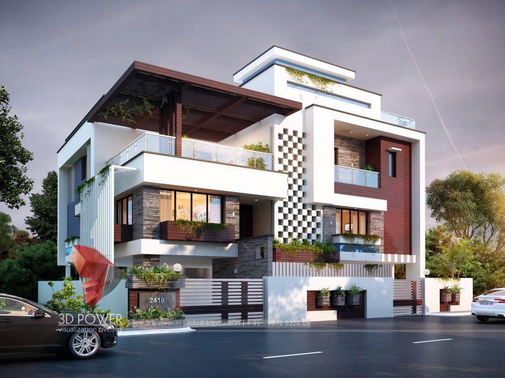 Technology Management Image: Bunglow Design- 3D Architectural Rendering Services